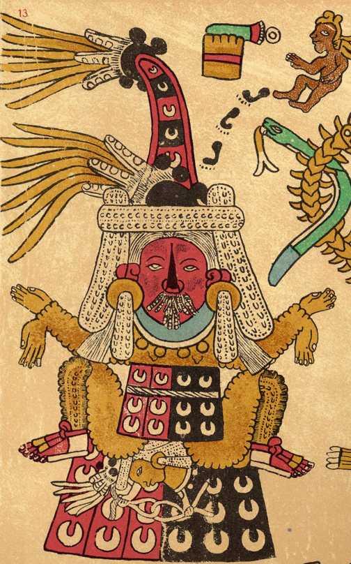 Aztec Religion And Nature Precolumbian