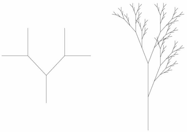 Branching structures